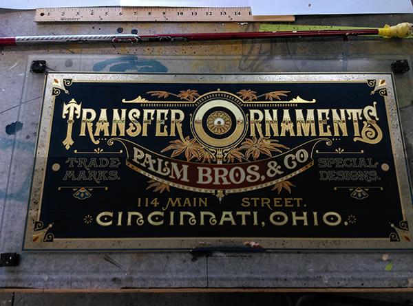 Transfer Ornaments Process 5